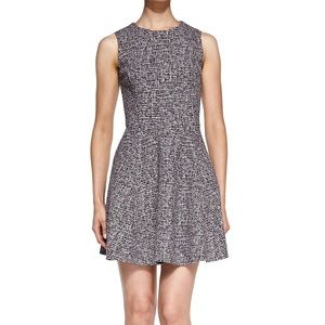 Theory Tillora tweed boucle fit and flare dress 2